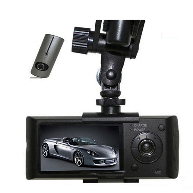 GPS G-Sensor Cam Corder 140 Degree Wide Angle Video Recorder Display with 2018 Auto 2.7 Inch Dual Lens Dash Cam Car DVR Camera 4