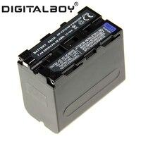 Digital Boy 1Pcs NP F970 NP F970 NP F960 NP F950 Battery For Sony CCD RV100