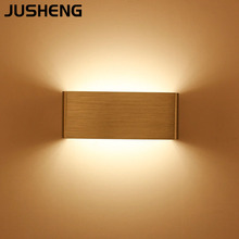 JUSHENG Nordic modern creative wall lamp bedside living room bedroom LED 5W hallway aisle corridor mirror headlights