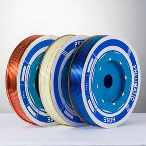 Image 5 - 100 m/piece האיכות גבוהה פניאומטיים הצינור PU OD 6MM מזהה 4MM פלסטיק גמיש צנרת PU6 * 4 פוליאוריטן צינורות כחול