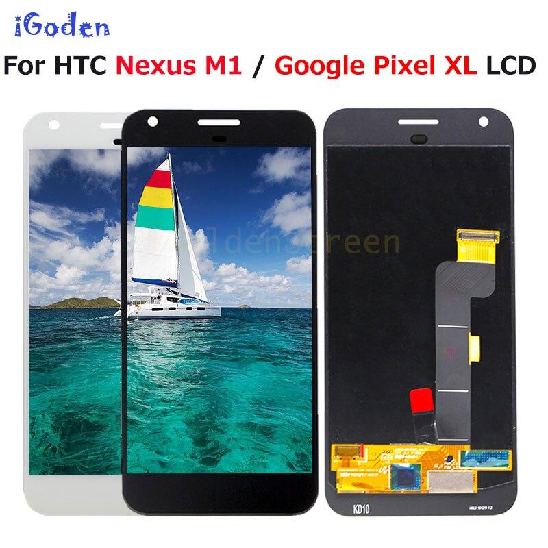 """Nuovo Per HTC Nexus M1 Google Pixel XL Display LCD Touch Screen Digitizer Assembly di Ricambio 5.5 """"Per Google Pixel XL LCD + strumenti-in Schermi LCD per cellulare da Cellulari e telecomunicazioni su  Gruppo 1"""