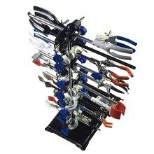 Медицинская лаборатория исследования реторт Поддержка Стенд Платформа набор с колбой Зажим Кольцо Bosshead горелка держатель металлический захват
