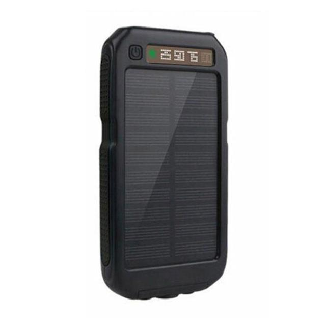 new products 7bdc5 e8629 US $20.67 |30000mAH Power Bank Solar Mobile Phone Accessories Extreme  Mobile Phone Battery case Charger Pack Dual USB LED For Cellphone-in Power  Bank ...