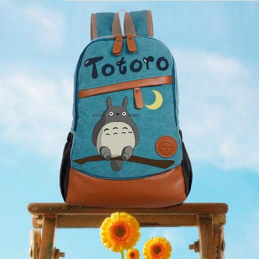 อะนิเมะ Tonari No Totoro คอสเพลย์มือวาดชายและหญิงเกาหลีนักเรียนกระเป๋า DIY กระเป๋าเป้สะพายหลังส่วนบุคคล-ใน กระเป๋าเป้ จาก สัมภาระและกระเป๋า บน AliExpress - 11.11_สิบเอ็ด สิบเอ็ดวันคนโสด 1