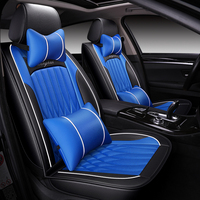Universal pu leather car seat cover for Citroen c2 C3 Aircross c3 picasso C4 DS 7 ds3 ds4 ds5 E BERLINGO E BLINGO