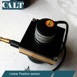 CALT 2500mm Faixa De Rastreamento Transdutores Lineares CESI-M2500P 24 v push pull desenhar sensor de posição do fio