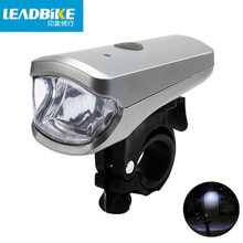 Leadbike New 2018 USB Rechargeable LED Bicycle Front Light 3W Super Bright Waterproof MTB Road Bike Headlight For Free Shipping