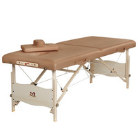Professional Portable Spa Massage Tables Foldable Salon Furniture Wooden Folding Massage Bed Legs Wood Beauty Table