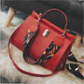 2017 Women PU Leather Shoulder bags Girls Crossbody Messenger bag Ladies Handbag and Purse Femme Sac A Main Black Brown Gray Red
