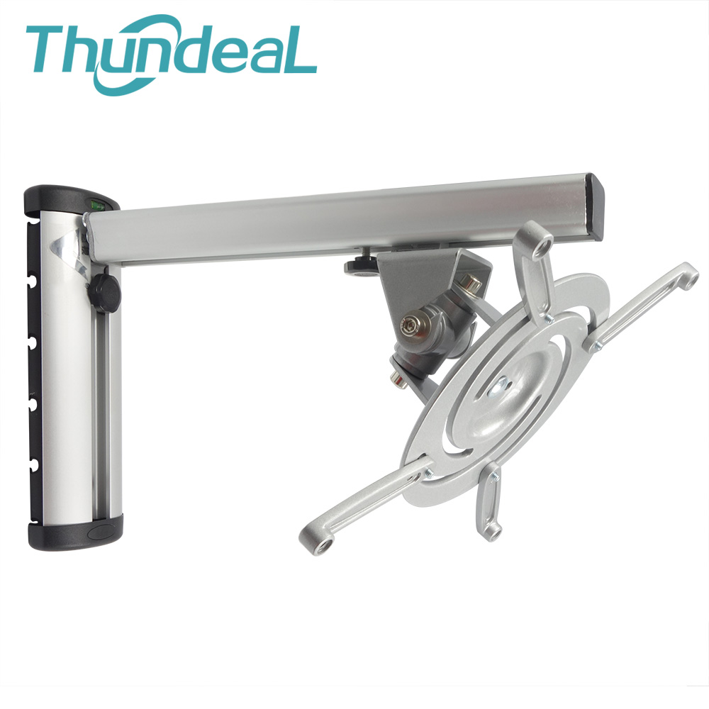 thundeal pr03 max 375mm led hd lcd big projector hanger bracket 360 degree projector wall mount - Projector Wall Mount