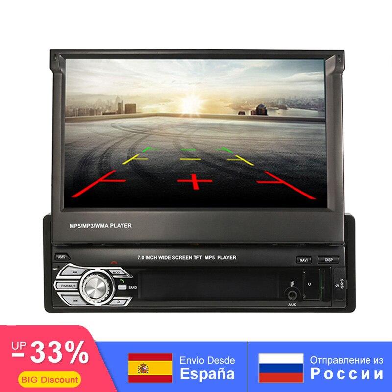 Voiture MP5 stéréo audio Radio Auto Bluetooth 1DIN 7