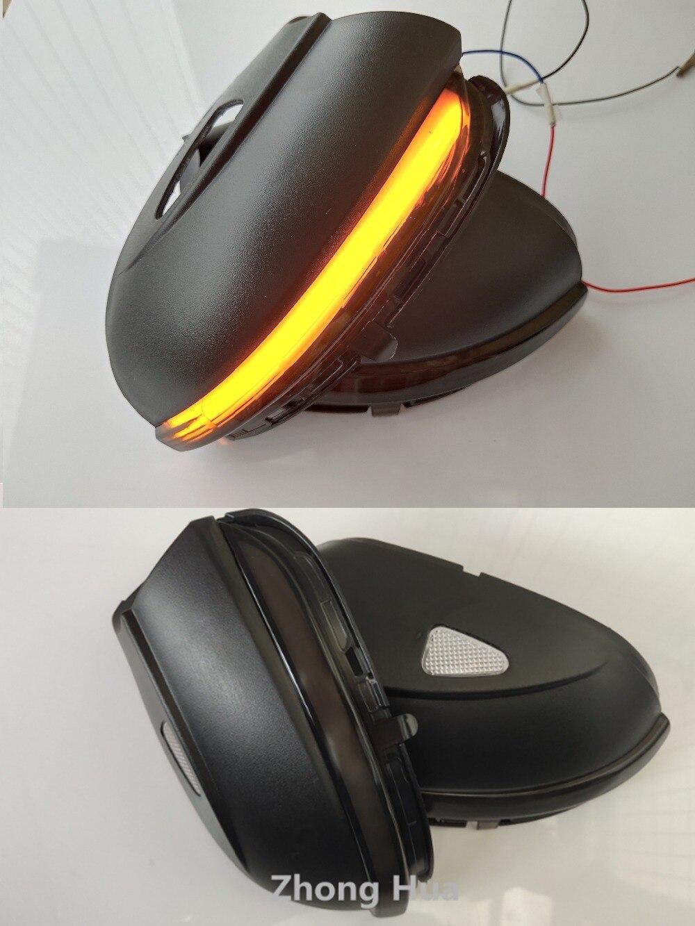 ダイナミックミラーインジケータウインカーゴルフ MK6 G TI 6 R ライン側 Led ターン信号光シーケンシャルウインカーランプ  グループ上の 自動車 &バイク からの 信号ランプ の中 1