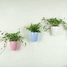 Автоматический водопоглощающий цветочный горшок настенный вертикальный садовый горшок креативное украшение сада