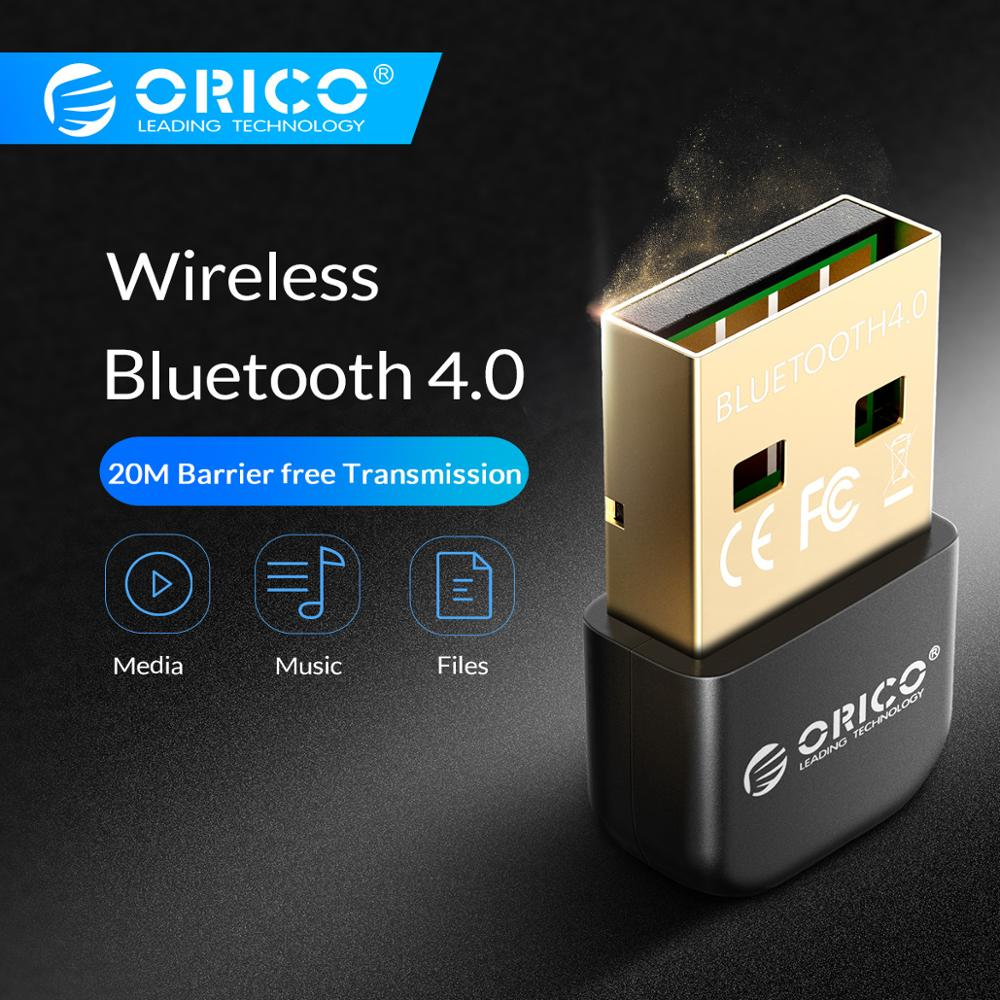 ORICO Mini USB Bluetooth Adapter V4.0 Dual Mode Wireless Bluetooth Dongle 4.0 Bluetooth Transmitter for Windows10 32/64-in USB Bluetooth Adapters/Dongles from Computer & Office