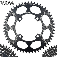 VXM Bicycle Aluminum Chainring 104BCD 40T 42T 44T 46T 48T 50T 52T Mountain Bicycle Chainwheel MTB Bike Crankset Bicycle Parts