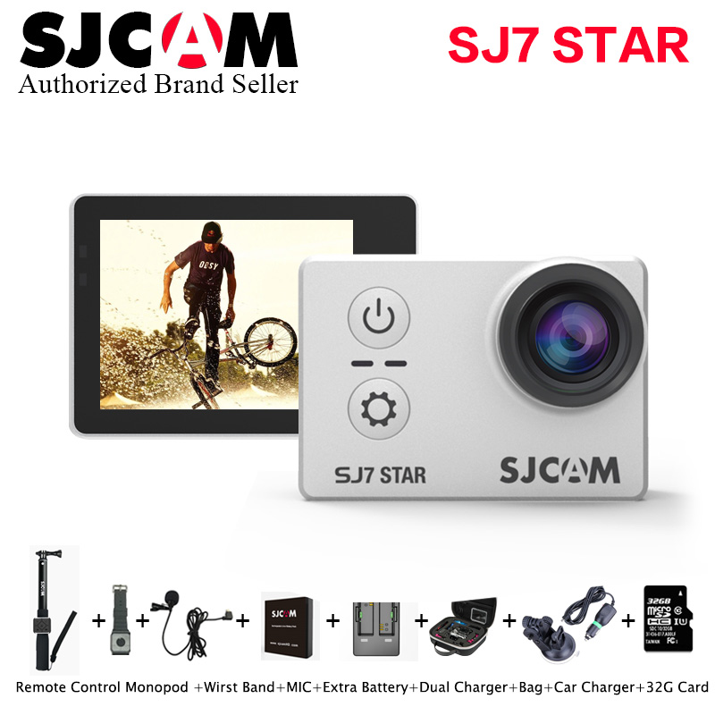 En stock! sj7 sjcam wifi estrellas 4 k 30fps $ number \