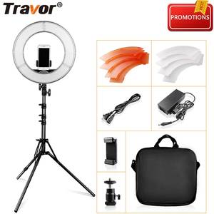 12 Inch LED Ring Light For Studio Ring Lamp Dimmable 5500 K Circular Light With Tripod