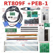 NEW RT809F Lập Trình Bộ Dụng Cụ Điện Tử LCD Phổ EPROM FLASH VGA ISP AVR GAL PIC Lập Trình + PEB 1 board Mở Rộng + FFC Dòng