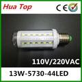 Lampada E27 13 W 110 V/220 V CONDUZIU a Luz do Milho 5730 Epaistar SMD 44 chip de Lâmpadas led Lâmpada do Ponto de iluminação interior salar lustre lâmpadas led