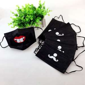 Disposable Face Mouth Funny Cartoon Print 3 Layer MASKS