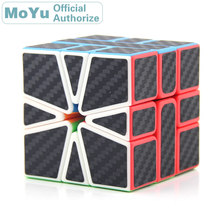 MoYu SQ1 SkewbCube Carbon Fibre Sticker Magic Cube 3x3x3 Cubo Magico Professional Neo Speed Puzzle Antistress Fidget Toys