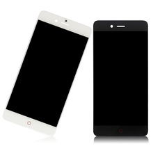 JIEYER For ZTE Nubia Z11 Mini S NX549J NX529J LCD Display Touch Panel Screen Digitizer Assembly with Frame For Z11 mini S Sensor