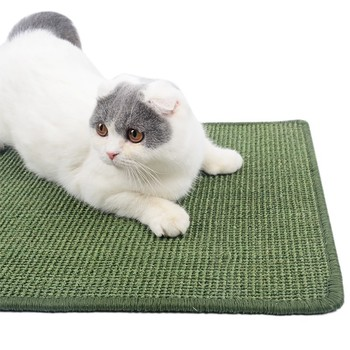 Cat Scratcher Board Scratching Post Cooling Mat 1