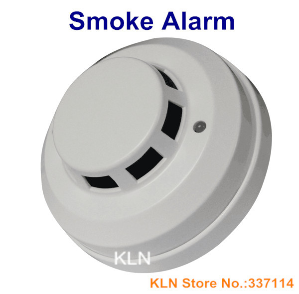 Wired Smoke Alarm | Photoelectric Wired Smoke Detector Fire Sensor Operating Dc12v