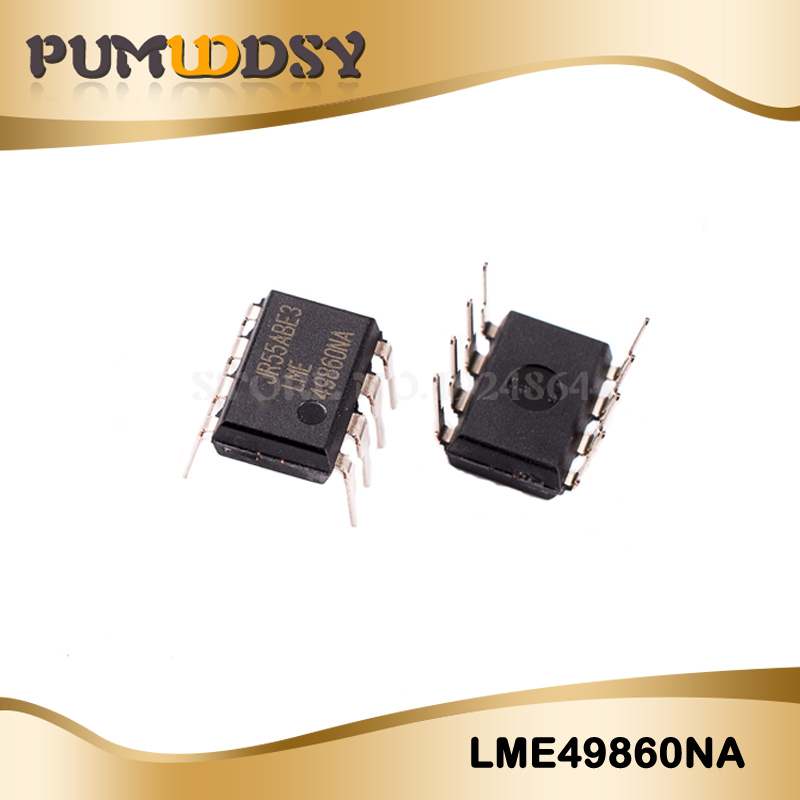 Electronic Components & Supplies 1pcs/lot Professional Ic Sales Lme49860na Lme49860 Dip8 High Quality And Low Overhead Active Components
