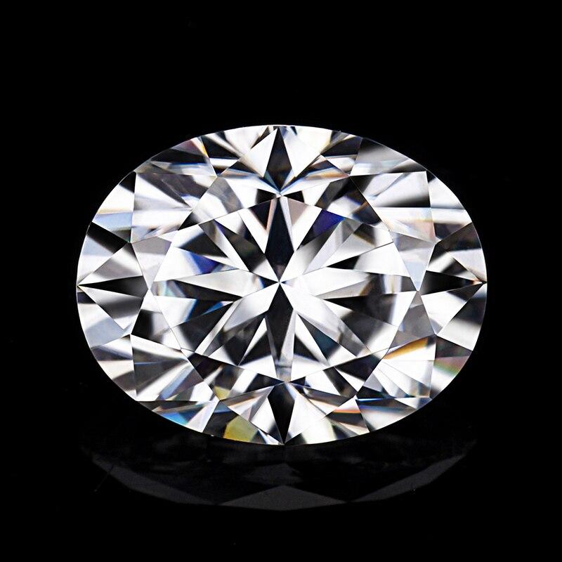 Starszuan 1ct EF design fantaisie ovale coupe blanc clair qualité supérieure moissanites gemme 7*5mm de forme ovale