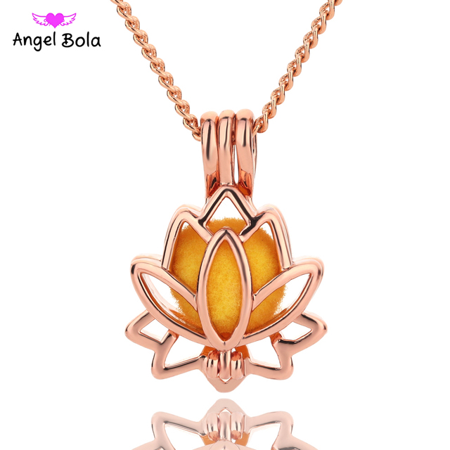 Bright Rose Creative Lotus Flower Jewelry Making Supplies Alloy
