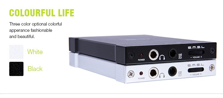 SMSL M2 Hifi Portable Headphone Amplifier USB Decoder DAC External Sound Card 6