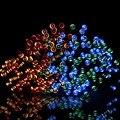 Luz exterior donde comprar barato luz solar solar LED Al Aire Libre Luz de la Secuencia 200LED 1800 mAH 12 M Impermeable Estrellado Iluminación de hadas