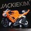 1:16 Aleación tire hacia atrás de motocicleta modelo, alta simulación juguetes de metal del bastidor de la motocicleta, HONDA CBR1000, envío gratis