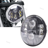 Один шт 80 Вт 7 круглые светодиодные фары E13 Утвержден Высокая ближнего света 12 В 24 В для Jeep Wrangler