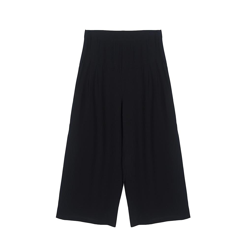 100% SIlk   Pants   Women   Wide     Leg     Pants   Summer Comfortable Pure Silk Fabric