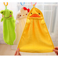 5 Color cartoon baby kids child infant newborn soft wash cloth bath feeding towel flannel wipe Hand Bath Towel Washcloths