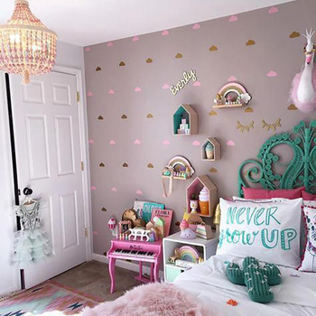 Cloud Wall Stickers For Kids Room Baby Girl Room Wall Decal Stickers Kids Bedroom Nursery Room Wall Sticker Children Home Decor