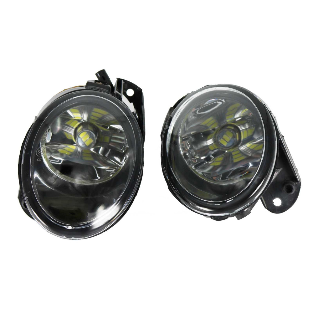 2Pcs For VW Passat B6 2006 2007 2008 2009 2010 2011 Front High Quality  LED Fog Lamp Fog Light aftermarket free shipping motorcycle parts eliminator tidy tail for 2006 2007 2008 fz6 fazer 2007 2008b lack