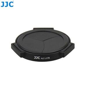 Image 3 - JJC Fotocamera Auto Copriobiettivo per PANASONIC DMC LX7/Leica D Lux6 Nero Argento Self Conservando Automatico di Protezione