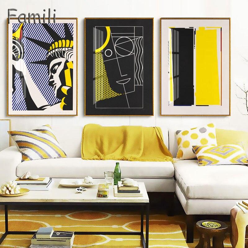 Arte Abstracto famoso clásico reproducción de pósters e impresiones arte en lienzo pintura cuadros de pared para decoración del hogar de la sala de estar Arte clásico reproducción artista Magritte el beso carteles e impresiones lienzo arte pintura cuadros de pared para la decoración del hogar