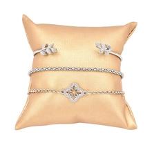 3 Pcs/set Retro Bracelets Silver Hollow Leaves flowers Hollow Adjustable chain Bracelet Women Party Wedding Accessories