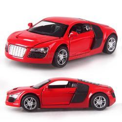Высокое качество 1:32 сплава модели автомобилей для мальчиков Игрушечные лошадки Четыре цвета металла классический сплав игрушечный