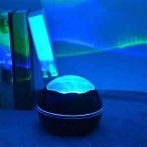 Image 4 - JUSOCCO proyector de luz nocturna giratoria para niños y bebés, lámpara de proyección Led USB romántica para dormir