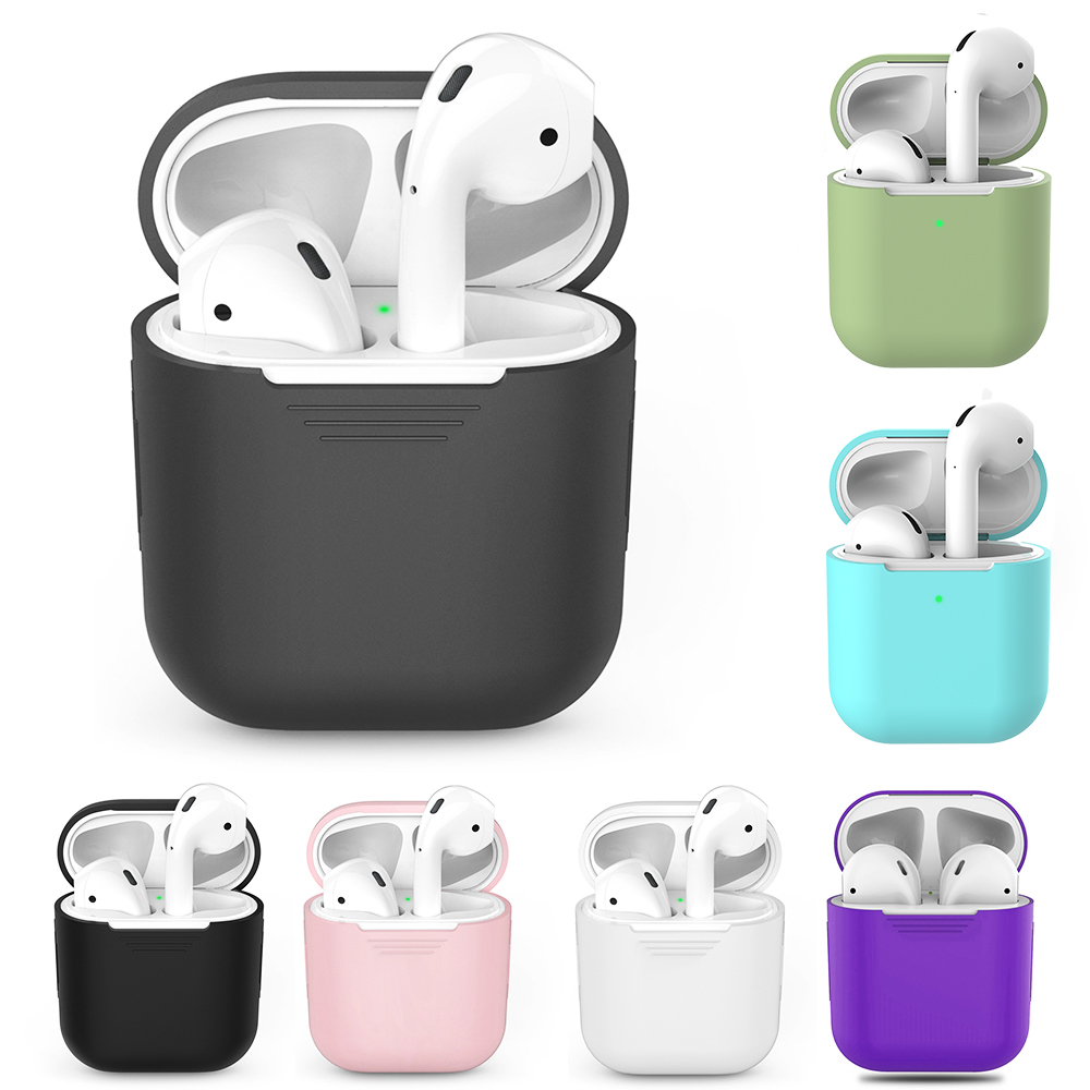 GerTong TPU Silicone Bluetooth Wireless Earphone Case For AirPods 1 Protective Cover
