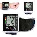 1Pc IHB Irregular Heartbeat Detection Digital Wrist Cuff Blood Pressure Monitor LCD Display Health Care Device New With Cae