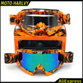 FOR KTM Motocross MX Goggles Cycling Outdoor Glasses Off Road Motorcross Motorbike goggles For Motorcycle Helmet glasses