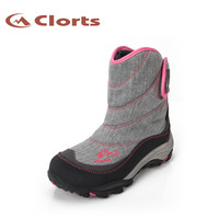 2015 Clorts Womens Winter Outdoor Snow Boots Warm Waterproof Ski Mountaineering Snow Boots For Women Free