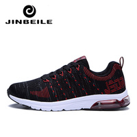 2018 Outdoor for adult men road running jogging walking Air sports shoes Max lace up Athietic Breathable Fly knit male sneakers