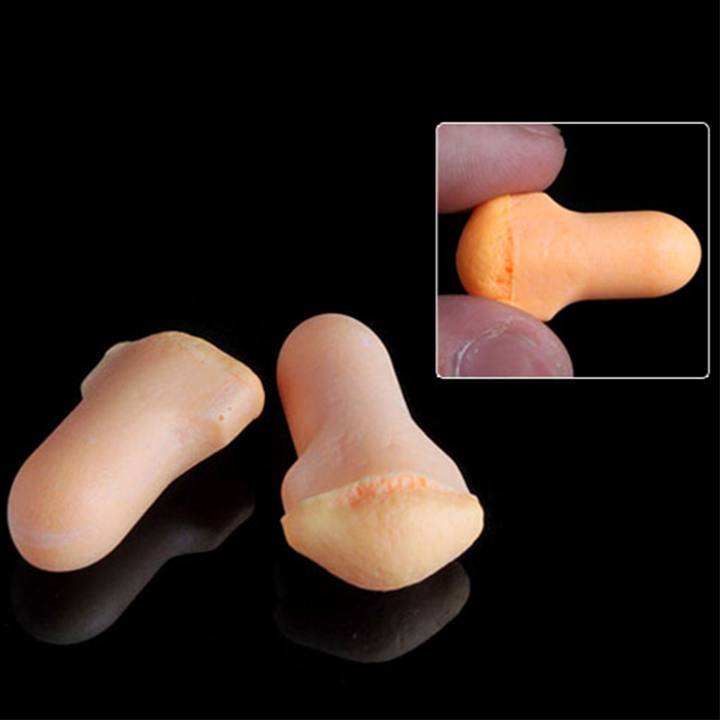 Image 3 - 10Pairs comfort earplugs noise reduction Foam Soft Ear Plugs Noise Reduction Earplugs Protective for sleep slow rebound earplugs-in Ear Protector from Security & Protection